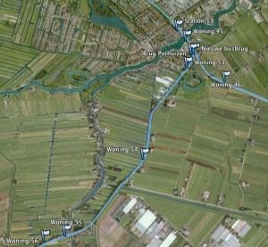 bovenkerk-de hoef Foto: Google Earth/Kees Boskamp