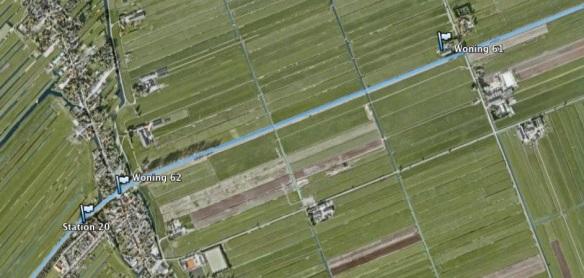 zuideindscheweg-aarlanderveen Foto: Google earth/Kees Boskamp