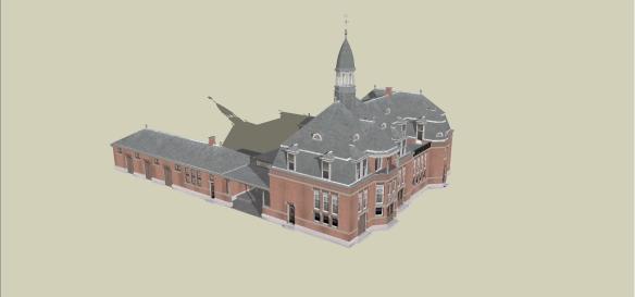 20121210 leiden heerensingel 3d H.J. van der Klip