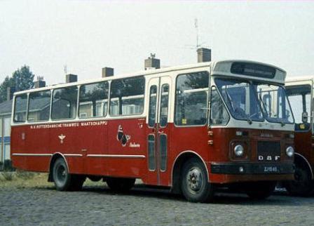 RTM bus Atalanta. Foto: Museum RTM Ouddorpalanta