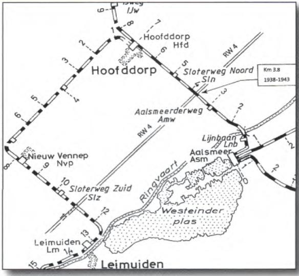Haarlemmermeerlijnen-a4. Archief Dick de Waal Malefijt
