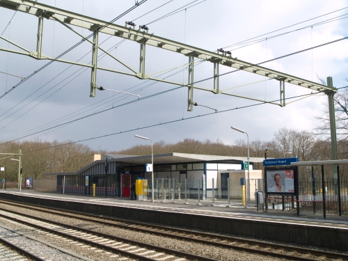 Santpoort Noord: een fris station met kunstzinnig urinoir en luxueus buurthuis