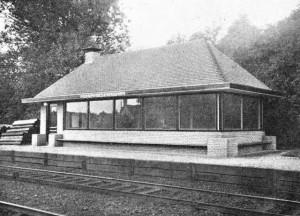 station driehuis westerveld 3 spoor en tramwegen 1931