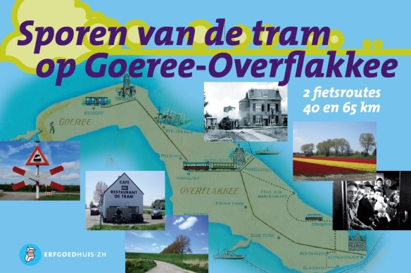 Cover fietsroute Sporen van de tram op Goeree Overflakkee
