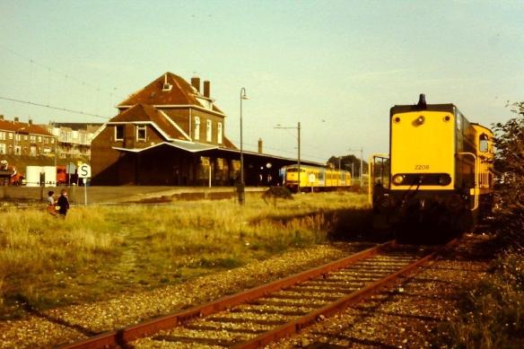 Station IJmuiden in 1983. Foto: Bert Gortemaker