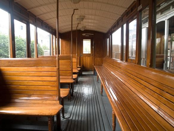 Interieur Blauwe tram