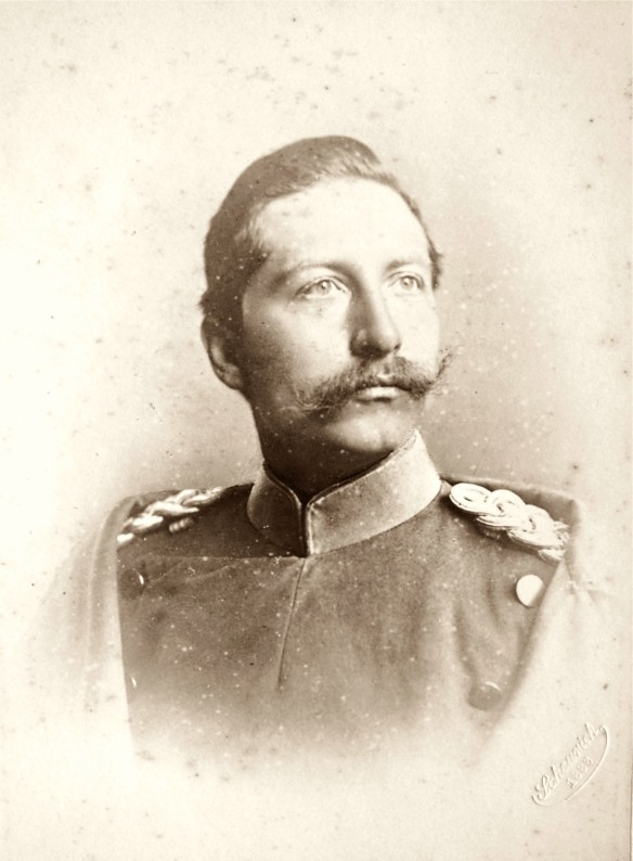 Keizer Wilhelm II. Photographie Atelier V.Scheurich Berlin 1888