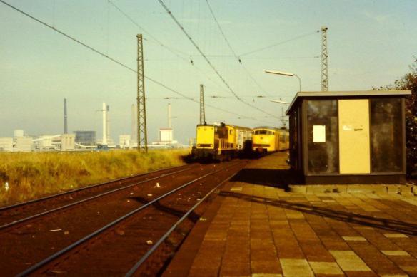 Halte IJmuiden-Julianakde in 1983. Foto: Bert Gortemaker