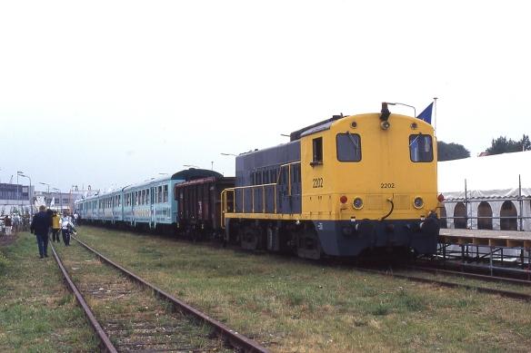 Lovers Rail op 11 augustus 1996. Foto: Raymond Kiés