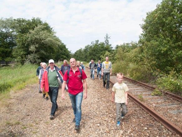 Spoorwandeling IJmuiden 21 juni 2014
