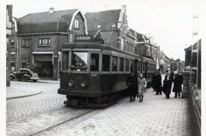 De Blauwe Tram in 1949. Foto: collectie Stichting Historisch Genootschap De Blauwe Tram