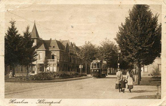 Kleverpark, circa 1920. Foto: Collectie Stichting Historisch Genootschap De Blauwe Tram