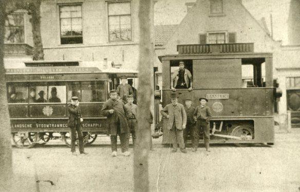 De NZHSTM in haar begindagen. Foto: Archief Stichting Historisch Genootschap De Blauwe Tram