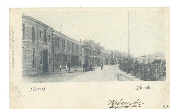 Station IJmuiden 1. Foto: collectie Martin Toonen