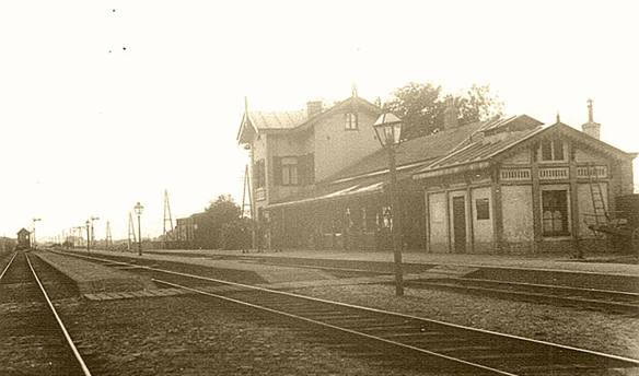 Station Heerhugowaard in 1900. Foto: collectie Peter Collet.