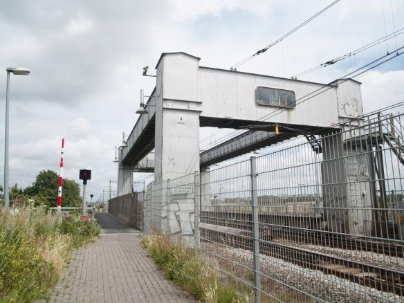 De spoorbrug bij Heerhugowaard