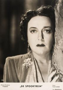 De filmposter van De Spooktrein uit 1939