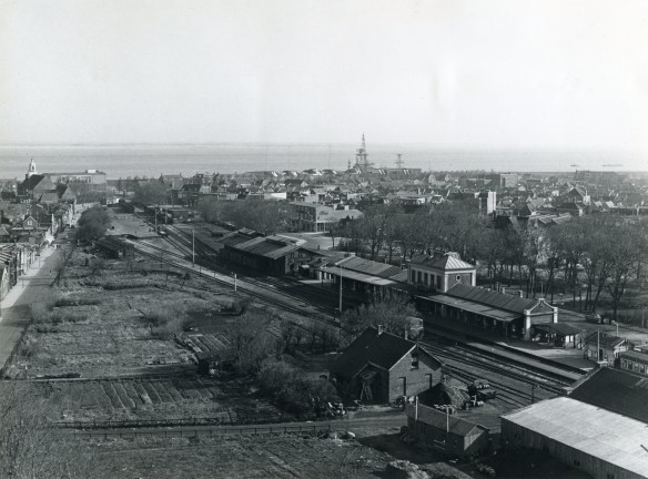 Station Den Helder in 1957. Foto: collectie Peter Collet