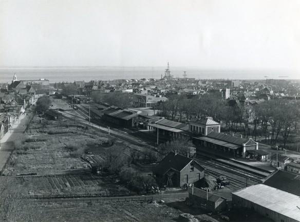 Station Den Helder in 1957. Foto: collectie Peter Collet
